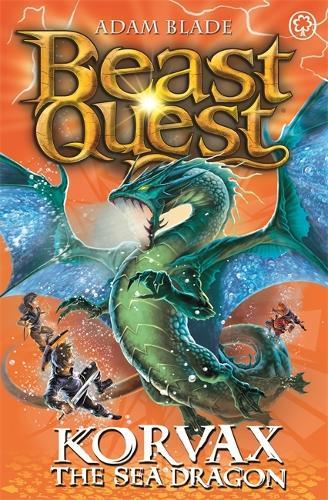 Beast Quest: Korvax the Sea Dragon: Series 19 Book 2 - Beast Quest (Paperback)