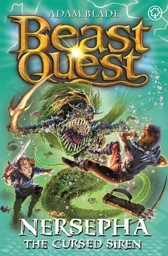Beast Quest: Nersepha the Cursed Siren: Series 22 Book 4 - Beast Quest (Paperback)