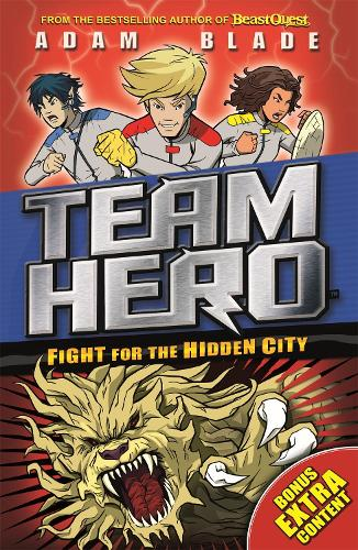 Fight for the Hidden City: Series 2 Book 1 with Bonus Extra Content! - Team Hero (Paperback)