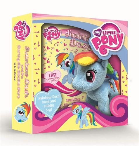 My Little Pony: Rainbow Dash and the Daring Do Double Dare Book and Toy Gift Set - My Little Pony