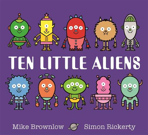 Ten Little Aliens - Ten Little (Paperback)