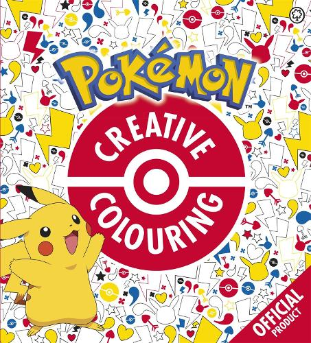 The Official Pokemon Creative Colouring - Pokemon (Paperback)