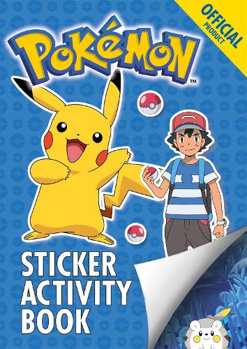 The Official Pokemon Sticker Activity Book - Pokemon (Paperback)