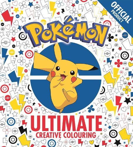 The Official Pokemon Ultimate Creative Colouring - Pokemon (Paperback)