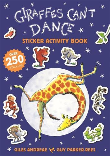 Giraffes Cant Dance 20th Anniversary Sticker Activity Book by Giles