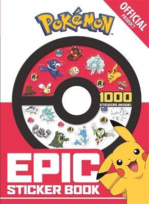 The Official Pokemon Epic Sticker Book - Pokemon (Paperback)