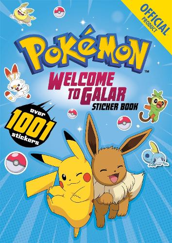 Pokemon Welcome to Galar 1001 Sticker Book (Paperback)
