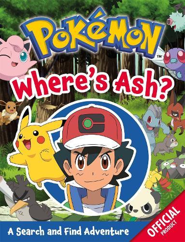 Pokemon: Where's Ash?: A Search and Find Adventure - Pokemon (Paperback)