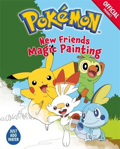 The Official Pokemon: New Friends Magic Painting - Pokemon (Paperback)