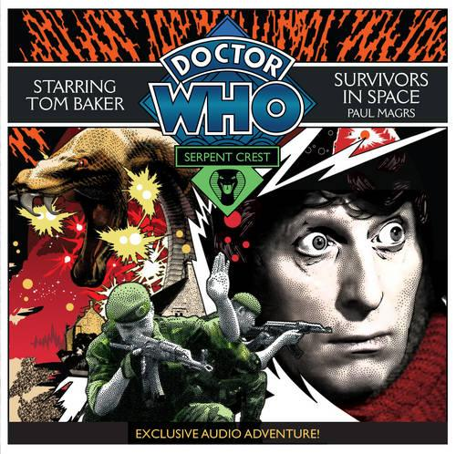 Doctor Who Serpent Crest 5: Survivors In Space (CD-Audio)