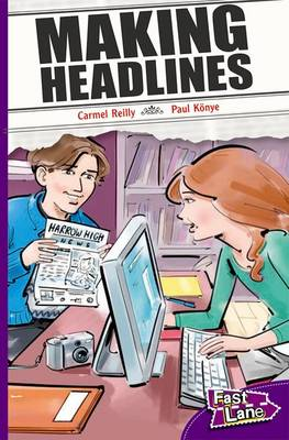 Making Headlines Fast Lane Purple Fiction (Paperback)