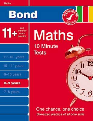 Bond 10 Minute Tests Maths 8-9 Years (Paperback)