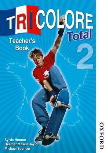 Tricolore Total 2 Teacher Book (Spiral bound)