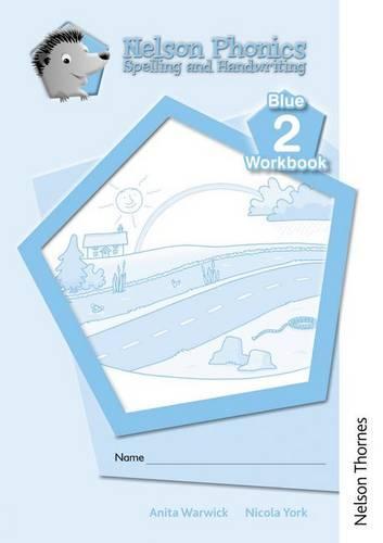Nelson Phonics Spelling and Handwriting Blue Workbooks 2 (10)