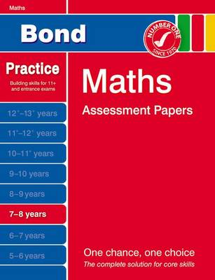 Bond Maths Assessment Papers 7-8 Years: 7-8 years (Paperback)