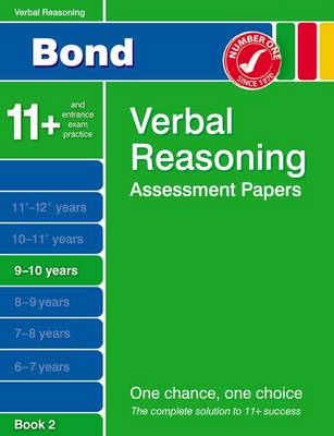 Bond Verbal Reasoning Assessment Papers 9-10 Years Book 2 (Paperback)