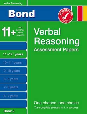 Bond Verbal Reasoning Assessment Papers 11+-12+ Years Book 2 (Paperback)
