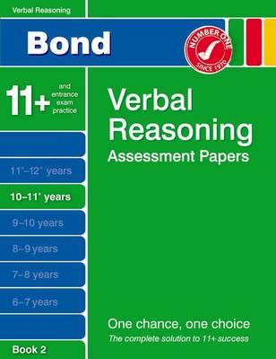 Bond Verbal Reasoning Assessment Papers 10-11+ Years Book 2 (Paperback)