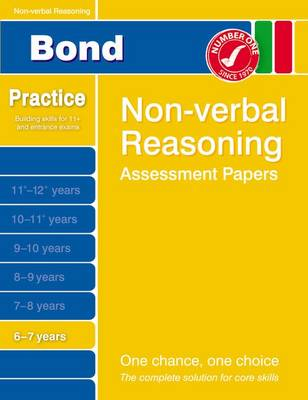 Bond Non-Verbal Reasoning Assessment Papers 6-7 Years (Paperback)
