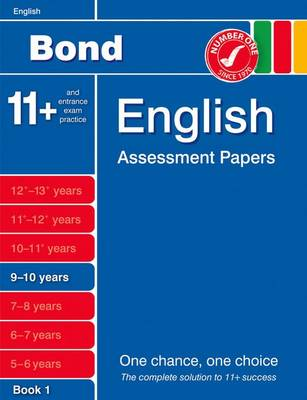 Bond English Assessment Papers 9-10 Years Book 1 (Paperback)