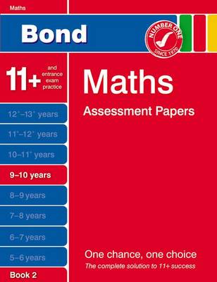 Bond Maths Assessment Papers in Maths 9-10 Years Book 2 (Paperback)