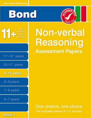 Bond Non-Verbal Reasoning Assessment Papers 9-10 Years Book 1 (Paperback)