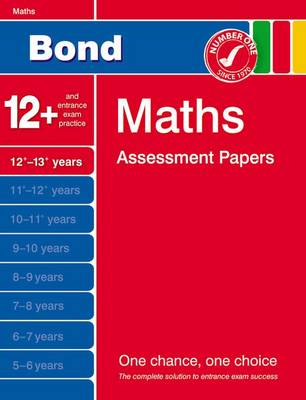 Bond Maths Assessment Papers 12+-13+ Years (Paperback)