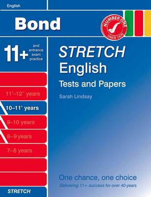 Bond Stretch English Tests and Papers 10-11+ Years (Paperback)