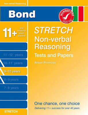 Bond Stretch Non-Verbal Reasoning Tests and Papers 9-10 Years (Paperback)