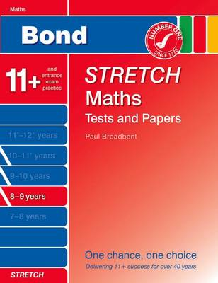 Bond Stretch Maths Tests and Papers 8-9 Years (Paperback)