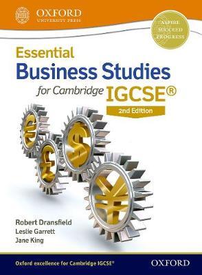 Essential Business Studies for Cambridge IGCSE (Paperback)