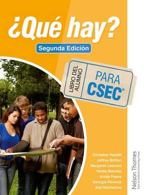 ?Que Hay? Libro del Alumno para CSEC