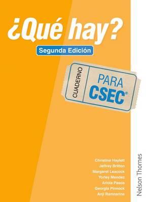 ?Que Hay? Cuaderno CSEC (R) (Spiral bound)