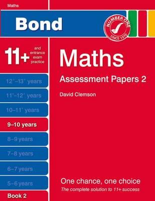 Bond Assessment Papers Maths 9-10 Yrs Book 2: Book 2 (Paperback)