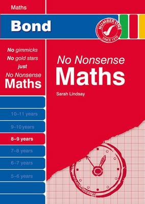 Bond No Nonsense Maths: 8-9 Years (Paperback)