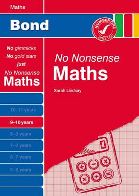 Bond No Nonsense Maths: 9-10 Years (Paperback)