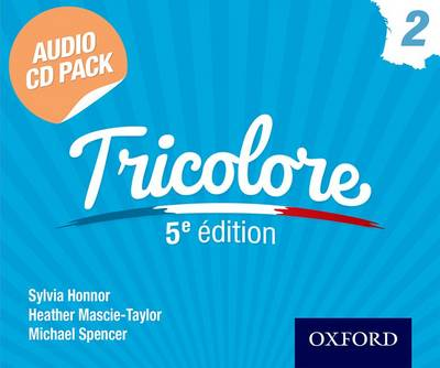 Tricolore 5e edition Audio CD Pack 2 (CD-Audio)