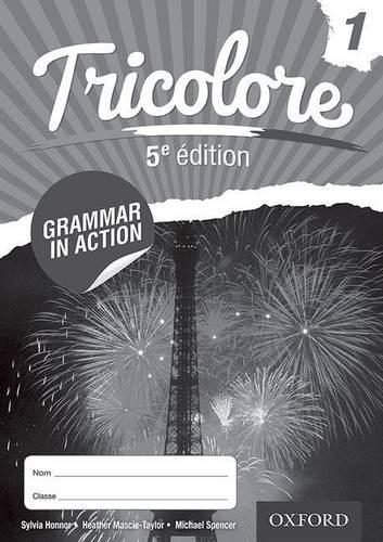 Tricolore 5e edition Grammar in Action Workbook 1 (8 pack)