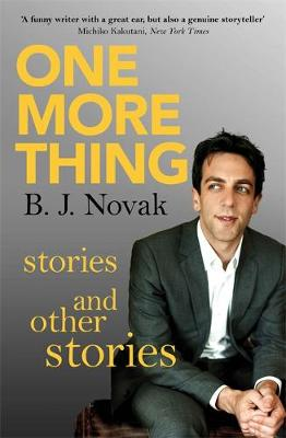 One More Thing: Stories and Other Stories (Paperback)
