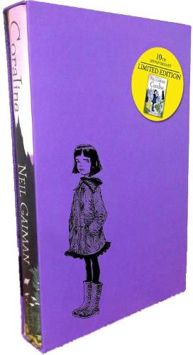 Cover of the book, Coraline.