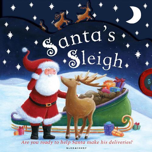 Santa's Sleigh: A Fun Christmas Counting Book (Board book)