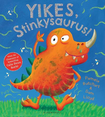 Yikes, Stinkysaurus! (Paperback)