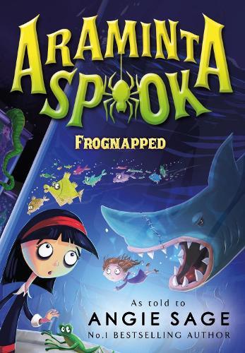 Araminta Spook: Frognapped (Paperback)