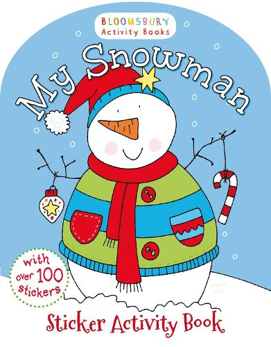 My Snowman Activity and Sticker Book (Paperback)