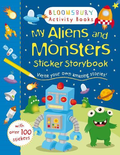 My Aliens and Monsters Sticker Storybook - Sticker Storybooks (Paperback)