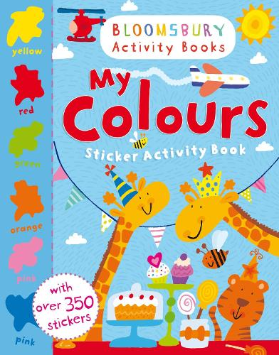 My Colours Sticker Activity Book (Paperback)