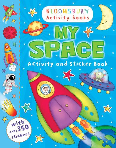 My Space Activity and Sticker Book (Paperback)