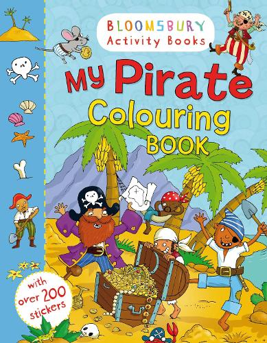 My Pirate Colouring Book (Paperback)