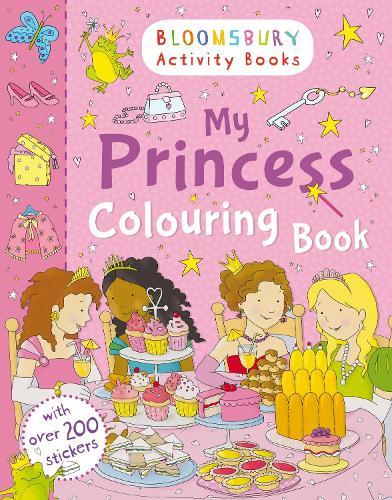 My Princess Colouring Book (Paperback)