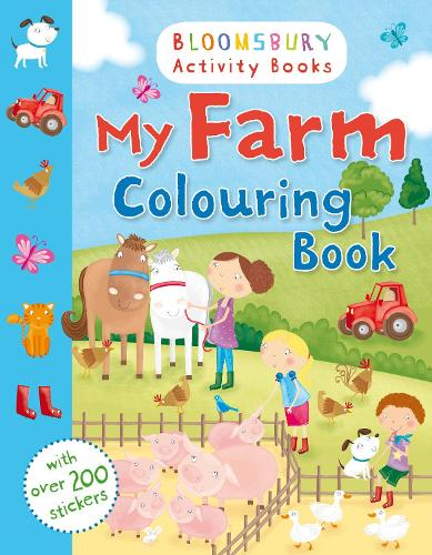 My Farm Colouring Book (Paperback)